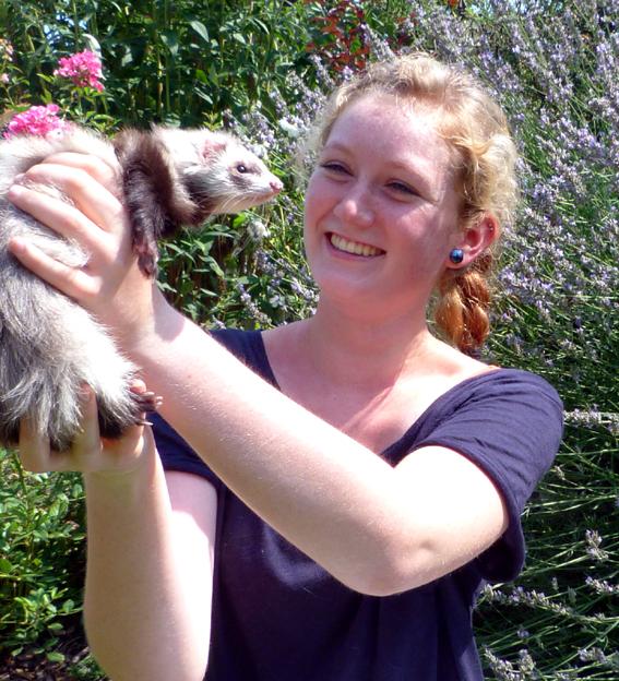 Hannah Brambach Auszubildende zur Tiermedizinischen Fachangestellten